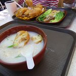 Our lunch 1: Congee with Fired Dough