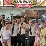 Foto van Blue Beach
