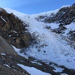 Avalanche zone of Tukuche