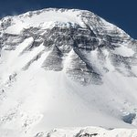 Dhaulagiri 1 North face (zoom pic) from French col