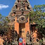 Balinese dress at Puri Saren Palace