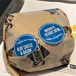 Le Double Cheddar & Smoky Bacon : vraiment délicieux...!