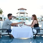 Surprise sunset dinner and serenade