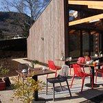 Terraza del Cafe Restaurante del Parque Kulatrayken