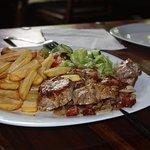 Mon steak façon slovaque (délicieux)