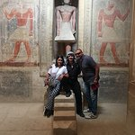 Inside the royal tombs at saqquara
