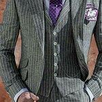 Slim fit cut suits for man
