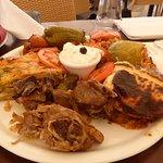 Assiette de spécialités grecques pour deux