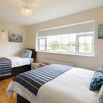 Twin Room at Claddagh House B&B, Ballina, Co Mayo, Ireland.