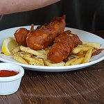 fish and chips- greasy batter