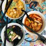 Calanthe Laksa mee RM13,8, Curry, Dumpling Noodle Soup