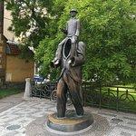 statua dedicata a  kafka