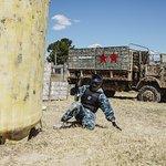 Paintball en base militar