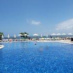 basen przy plaży