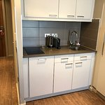 kitchenette in the room