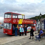 Hop-on our open top tour to see the best of Bute.