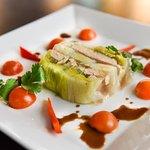 Terrine de poireaux au foie gras