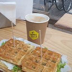Bilde fra Happy Days waffles & coffee