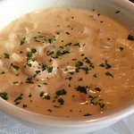 Bahamian Seafood Chowder-cup