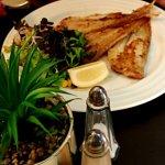 3 Solettes avec salade et frites