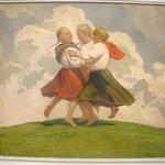 Dancing Slovak Children