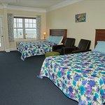 Ocean View Studio with 2 Queen Beds