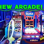 Brand new arcade with over 35 of the NEWEST games and Redemption Center to cash in those tickets!
