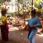 learning Balinese dance