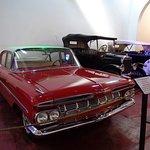 Algunos de los autos exhibidos