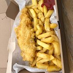 Fish and Chips Vagninn Foto
