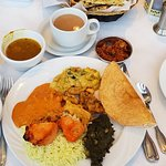 Indian Buffet with North & South Indian items