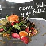 Ziegenkäse Salat mit Erdbeere... Einfach lecker