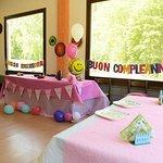 Allestimenti per feste di compleanno con sala dedicata