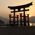 Itsukushima Shrine Torii – fotografija