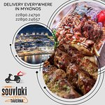 Souvlaki Story Tavera - Delivery everywhere in Mykonos  Order / Delivery : 22890.24790 / 22890.24657