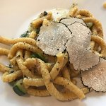 Another delectable pasta dish with truffles on top!