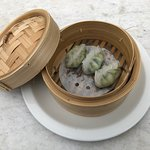 Prawn and Chive Dumplings, one of the most popular dumplings ordered on our weekly Friday dumpling night.