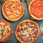 Scoozi pizza