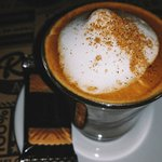 Un café algo especial, todo un detalle.