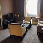 spacious suite I enjoyed .