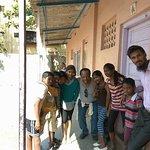 Americans found friends in Dharavi slum.
