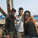 American Guesst starting point of slum tour.