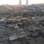 These sun set pic I have taken from Dharavi.