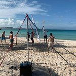 fun volleyball 2x a day plus a tournament