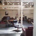 RI Spirits spacious & bright tasting room.