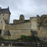 The historic fortified village of Chinon.