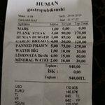 Bilde fra Human Gastropub & Sushi