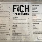 Amazing food and outstanding serving with a smile. Atmosphere is great with some fantastic old school tunes pumping in the background. Do not leave without trying the FICH popcorn. ⭐️⭐️⭐️⭐️⭐️