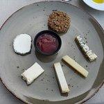 Kaasbord met kazen van de kaasmeesters Callebaut)