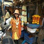 Flower shop on a slum tour.